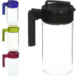 Takeya 1-Quart Airtight Tritan Plastic Pitcher with Non-Slip
