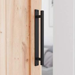 "SMARTSTANDARD 12"" Rustic Barn Door Handle for Sliding Door"