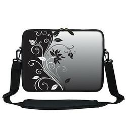 "13 13.3"" Laptop Sleeve Bag with Hidden Handle Shoulder Strap"
