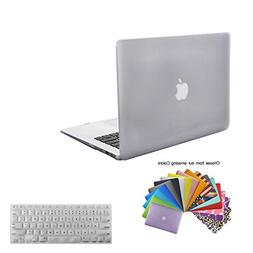 MacBook Air 13 Cover Case,TECOOL Plastic Hard Shell Bundle w