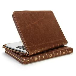 13 Retina MacBook Pro Sleeve, GMYLE Book Case Vintage for Ma