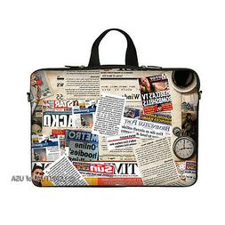 "15.6"" Laptop Notebook Computer Sleeve Case Bag Magazine with"