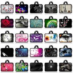 "17.3"" 17.4"" NEOPRENE LAPTOP NOTEBOOK SLEEVE BAG CASE POUCH W"