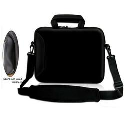 "17"" Black Laptop Shoulder Sleeve Bag Case+Handle For 16"" 17"""