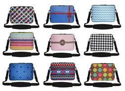 15 Inch Neoprene Matching Pattern Laptop Sleeve Bag with Hid