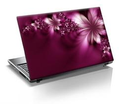 TaylorHe 17 inch Laptop Skin Vinyl Decal with Colorful Patte