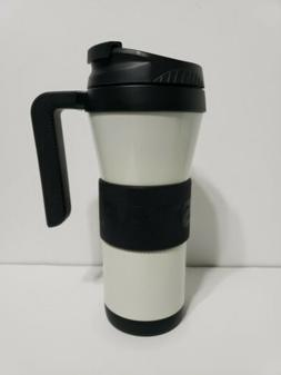 Starbucks 2016 White Miller Stainless Tumble with Handle & R