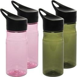 2pk Thermos Intak 18oz Portable Plastic Hydration Water Bott
