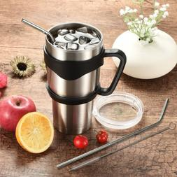 30 oz stainless steel tumbler with handle