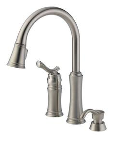 Delta Faucet 59963-SSSD-DST Modern Heritage Pull-Down Kitche
