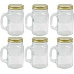 1 Mason Jar With Handle Mug Rustic Bridal Wedding Drinking G
