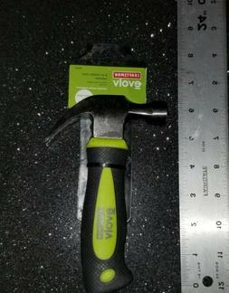 Craftsman 8-oz. Stubby Claw Hammer with Rubber Grip Handle B