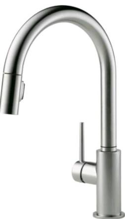 Delta 9159-AR-DST Trinsic Arctic Stainless Single Handle Pul