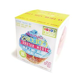 ColorKitchen Cupcake Coloring Set  - Non-GMO, Plant Based, G