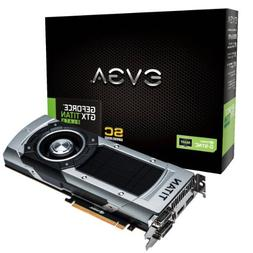 EVGA GeForce GTX TITAN BLACK Superclocked w/G-Sync Support 6