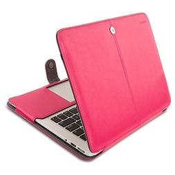 Mosiso PU Leather Case Only for MacBook Air 13 Inch A1466/A1
