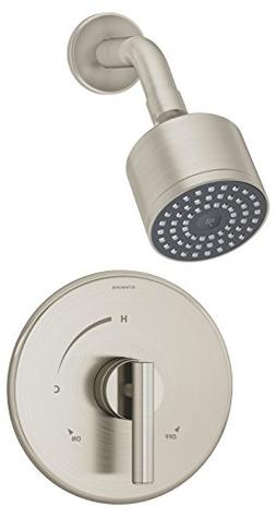 Symmons 3501-CYL-B-STN-TRM Dia Shower Trim with Lever Handle