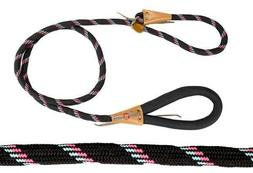 adjustable loop slip dog leash with super