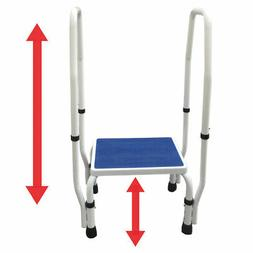 adjustastep 1 doublesafe stool footstool