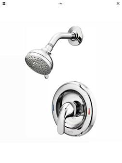 MOEN Adler Single-Handle 4-Spray Shower Faucet with Valve in