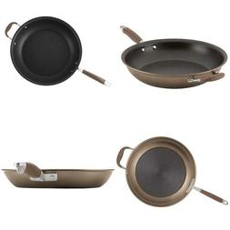 Anolon Advanced Bronze Hard-Anodized Nonstick Large Skillet