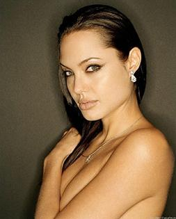 Angelina Jolie 8x10 Photo - No Image is Cropped. No white or