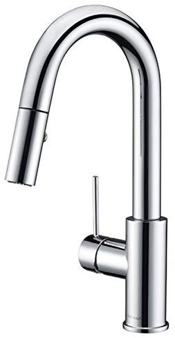 AguaStella AS59CH Chrome Bar Faucet or Prep Kitchen Sink Fau