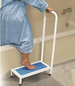 Bathtub Safety Support Step With Handle