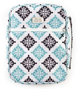 Double Creek Bible Case Cover for Women Zippered Carrying Ca