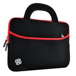 Black/ Red Neoprene Sleeve Case Bag with Handle For Kids Nab