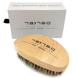 Parker Premium Boar Bristle Beard & Hair Brush with Beechwoo
