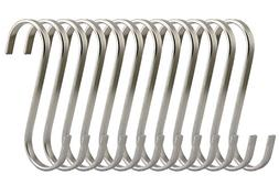 RuiLing Premium 12 Pack Size Medium Brushed Stainless Flat S