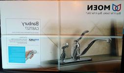 Moen CA87527 Kitchen Faucet with Side Spray from the Banbury