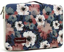 Camellia Waterproof Laptop Sleeve Bag case with Pockets and