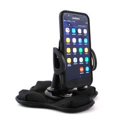Car Phone Holder with Portable Dashboard Beanbag Friction Mo
