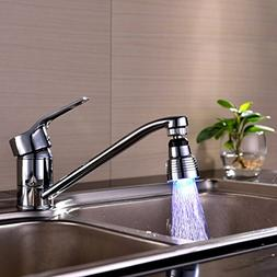 Fitiger 7 Color Changing LED Faucet Tap Water Faucet FI-B10,