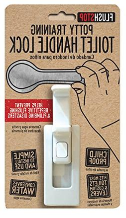 Childproof Toilet Handle Lock