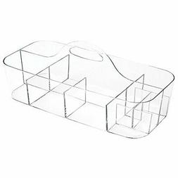 InterDesign Clarity Cosmetic Organizer Tote for Vanity Cabin