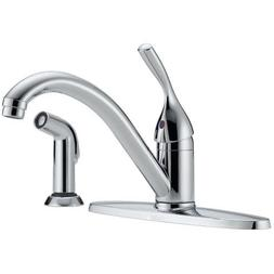Delta Kitchen Faucet Low Lead Single Handle Classic Series 8