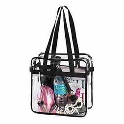 BAGS for LESS Clear Tote Stadium Approved with Handles And Z
