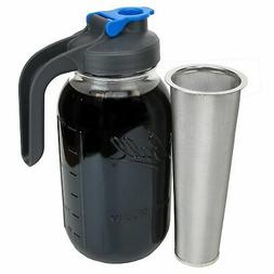 Cold Brew Coffee Maker with Handle - 2 Quart by County Line