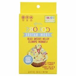 Color kitchen Sprinkle Set Yellow, 1.33 oz