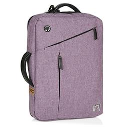 ELESAC convertible 15 inch laptop briefcase & backpack - fol