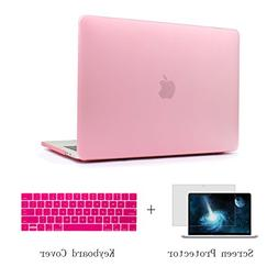 CiSoo Cute Matte Pink Hard Case and Keyboard Cover and Scree