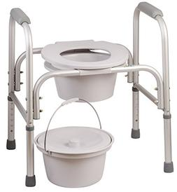 DMI 3-In-1 All Purpose Commode