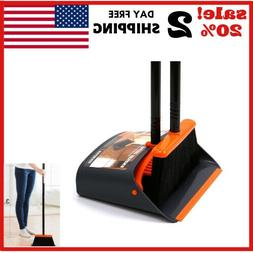 Dust Pan and Broom/ Dustpan Cleans Broom Combo with Long Han