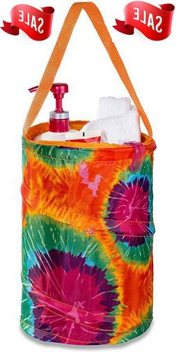 EXTRA LARGE Shower Caddy Tote Collapsible Mesh with Handles