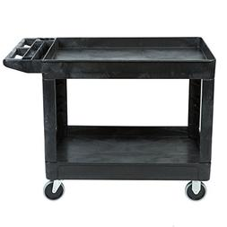 Rubbermaid Commercial Products 2-Shelf Utility/Service Cart,