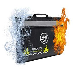 Fireproof and Waterproof Money and Important Documents Bag -