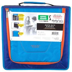 """Five Star 2"""" Zipper Binder with Handle  - Pick Your Color"""